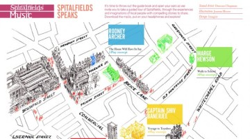 Map for Spitalfields Music