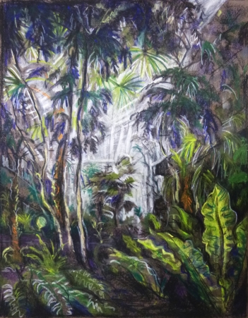 Barbican Conservatory (pastel)