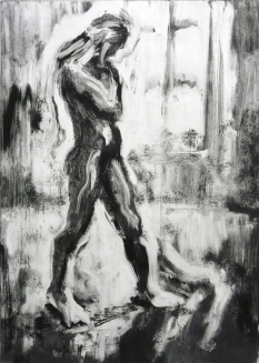 Male nude (monotype)