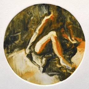Male figure (monotype)